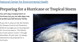Hurricane Readiness | CDC Features