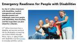 Disabilities: Emergency PreparednessTraining | CDC Features