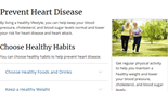 Heart Disease Prevention With Healthy Living Habits