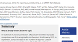 Possible Association Between Zika Virus Infection and Microcephaly - Brazil, 2015 | MMWR